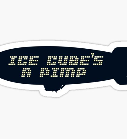 Ice Cube's A Pimp Sticker