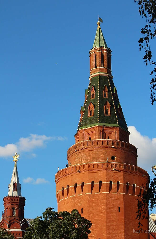 Moscow's Towers by karina5