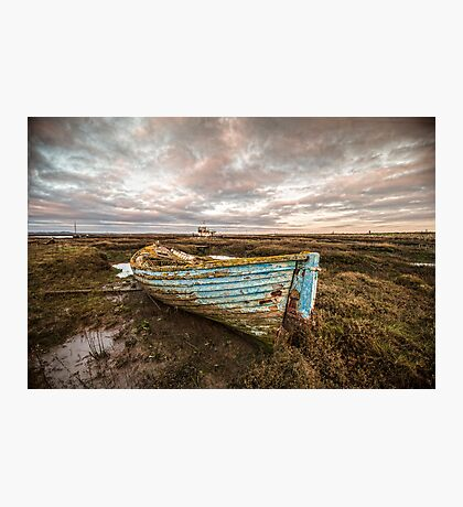 The Blue Boat Photographic Print
