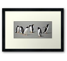 I'm the King of the World -  Of course you are! Framed Print