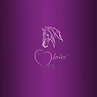 """I-Phone case """"Horselover"""" pink edit by scatharis"""