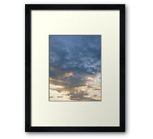 Shades of Color Framed Print