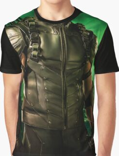 The Vigilante of Starling City- Oliver Queen Graphic T-Shirt