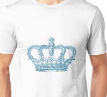 Aqua Vintage Crown Unisex T-Shirt