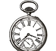 Vintage Stop Watch by pencreations