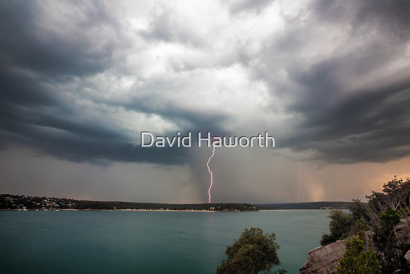 Cronulla Lightning Bolt by David Haworth