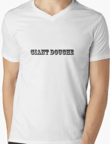 giant douche bag funny bro party tee  Mens V-Neck T-Shirt