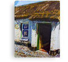 Ballinderry Forge Cottage, Cultra, County Down. Canvas Print