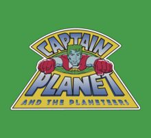 Captain Planet and the Planeteers by fanboydesigns