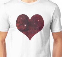 space heart Unisex T-Shirt