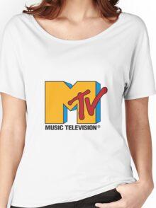 MTV Women's Relaxed Fit T-Shirt