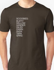 The Scoobies (light type) Unisex T-Shirt