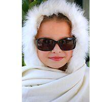 Cool Snow Bunny Photographic Print