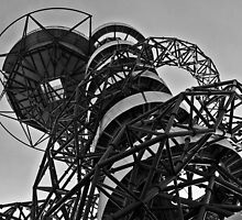 Orbit, Olympic Park, London by Ros Bell