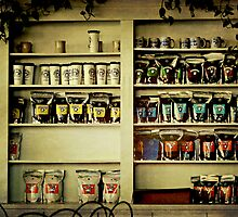 Stay for a cup of coffee while you shop by Scott Mitchell