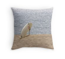 Surfboard Throw Pillow