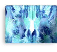 PASSIONATE BLUE Canvas Print