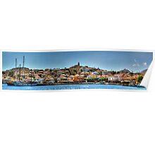 Nimborio Village Panorama Poster
