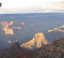 Grand Canyon Shadows by Fred  Senecal