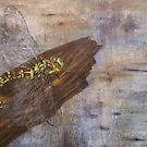 Dragonfly laying eggs on wood by Pat - Pat Bullen-Whatling Gallery