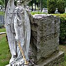 Mourning Angel in Contemplation by Jane Neill-Hancock