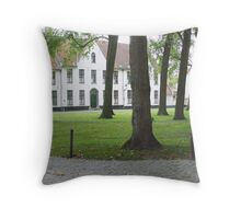 Bruges Begijnhof Throw Pillow