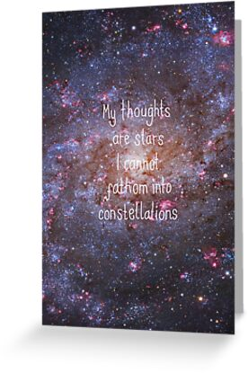 My Thoughts Are Stars by stuarthole