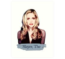 Buffy: Slayer, The Art Print