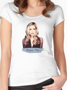 Buffy: Slayer, The Women's Fitted Scoop T-Shirt