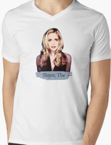 Buffy: Slayer, The Mens V-Neck T-Shirt
