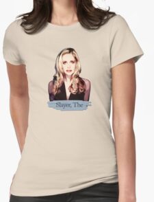 Buffy: Slayer, The Womens Fitted T-Shirt