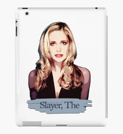 Buffy: Slayer, The iPad Case/Skin