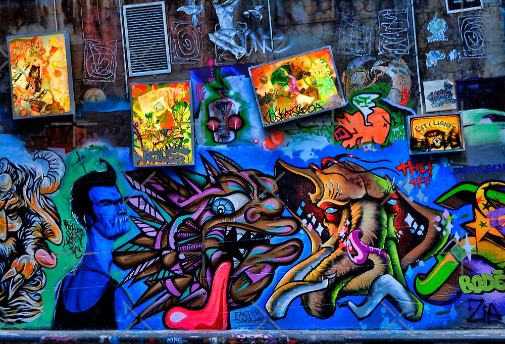 Hosier Lane 2 by JHP Unique and Beautiful Images