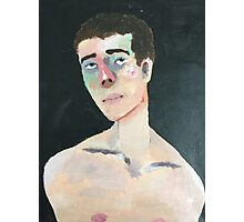 Portrait of a Nameless Man Photographic Print