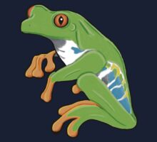Red Eyed Tree Frog Kids Clothes