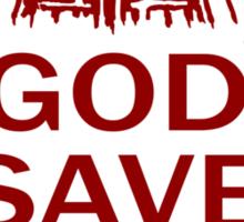 GOD SAVE THE SUPREME Sticker