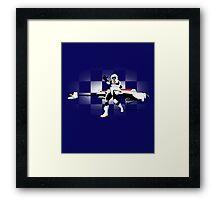 Speed Biker Framed Print