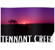 """Day 24   365 Day Creative Project  """"Tennant Creek"""" Poster"""