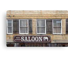White Elephant Saloon  Canvas Print