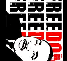 MLK FREEDOM RED by OTIS PORRITT