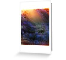 Ambient Galaxy - Abstract Print Greeting Card