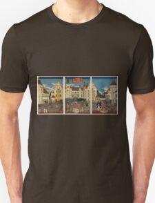 Amerika nigiwai no zu T-Shirt