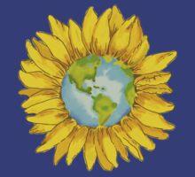 Sunflower World by Samantha Huckabay