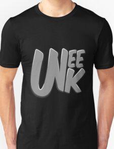 """UNEEK """"Bubble Gum"""" Grayscale logo  Unisex T-Shirt"""