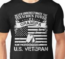 GRANDPA WHO IS ALSO A U.S. VETERAN Unisex T-Shirt
