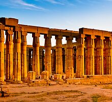 Luxor Ruins - Memories of Ancient Egypt by Mark Tisdale