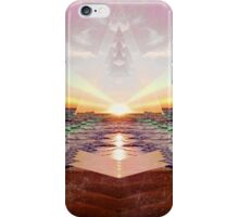 Beach Sunset - Abstract Print iPhone Case/Skin