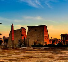 Luxor Temple - Ancient Egyptian Ruins by Mark Tisdale