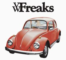 Das VW-Freaks Orange Beetle (No BG) by VW-Freaks