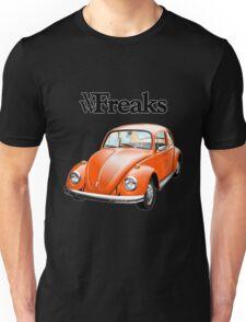 Das VW-Freaks Orange Beetle (No BG) Unisex T-Shirt